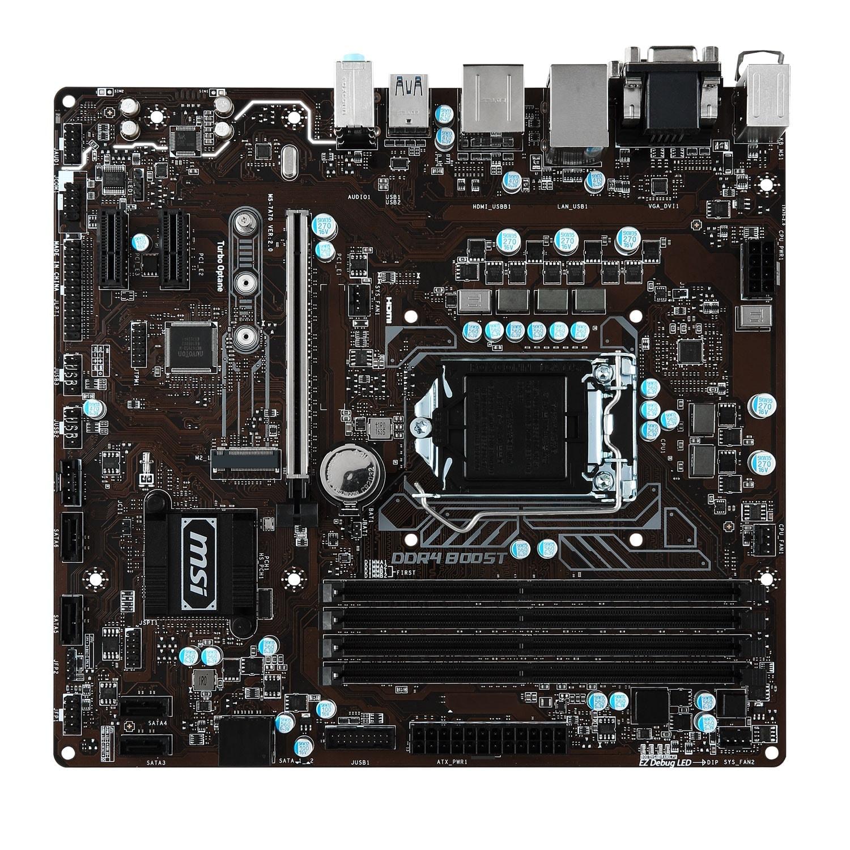 MSI B250M PRO-VDH Micro-ATX DDR4 - Carte mère MSI - Cybertek.fr - 1