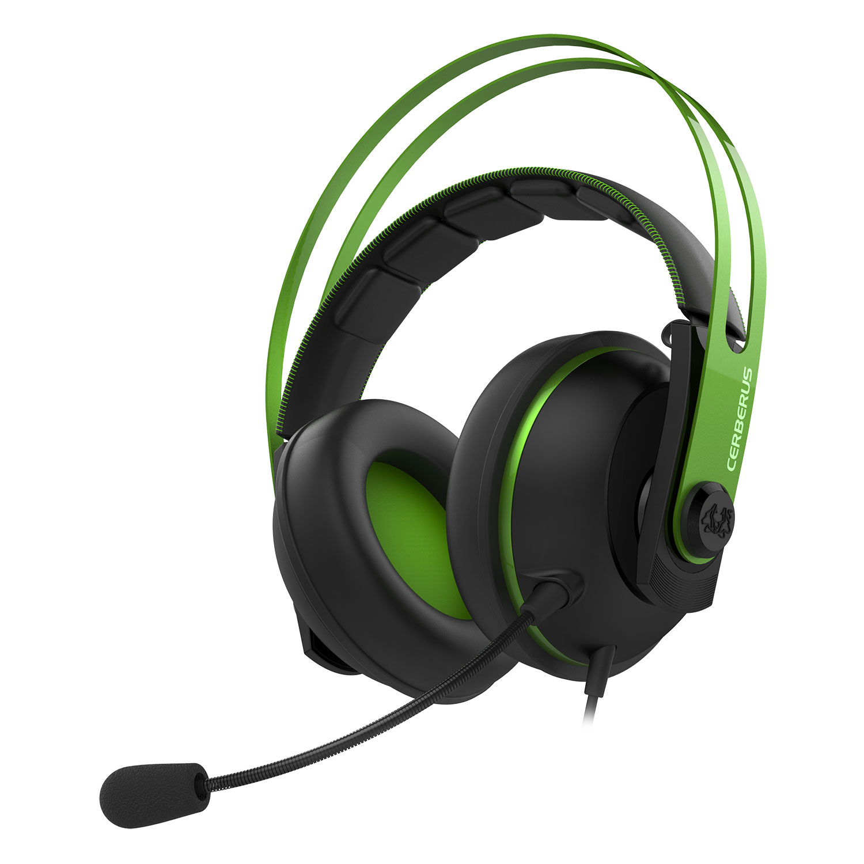 Asus Cerberus V2 Vert Stereo Vert - Micro-casque - Cybertek.fr - 0