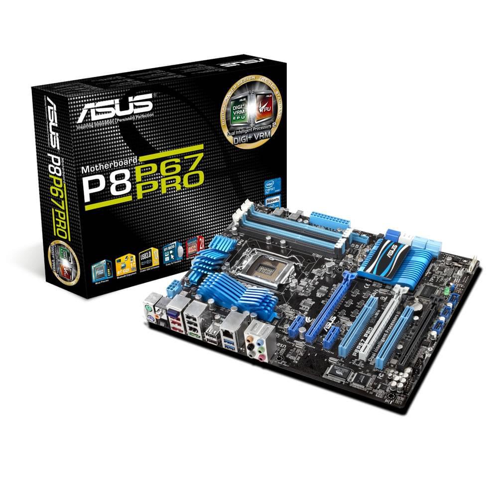 Asus P8P67 PRO B3 ATX DDR3 - Carte mère Asus - Cybertek.fr - 0