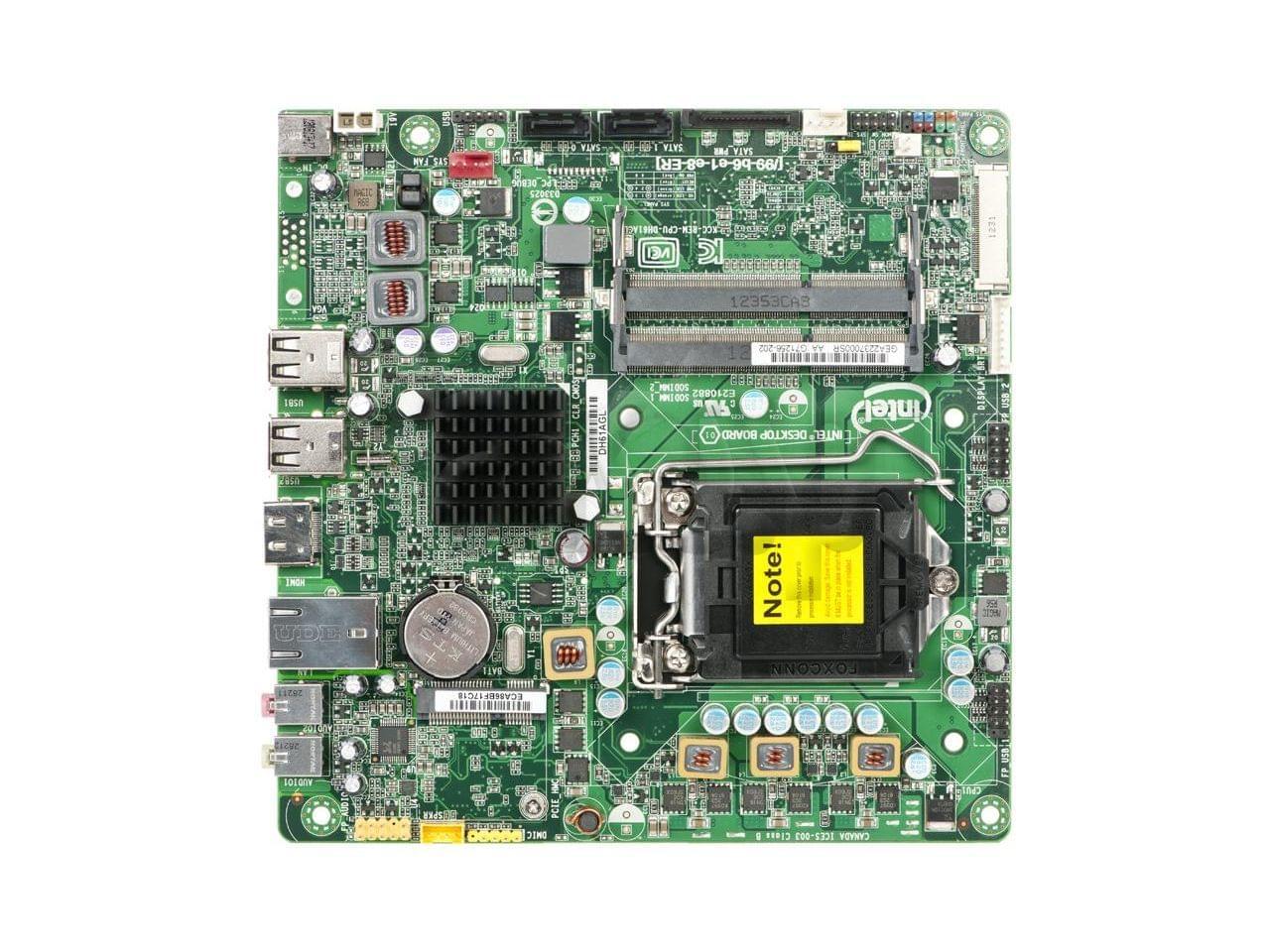 Intel BLKDH61AGL pr AIO (BLKDH61AGL) - Achat / Vente Carte Mère sur Cybertek.fr - 0