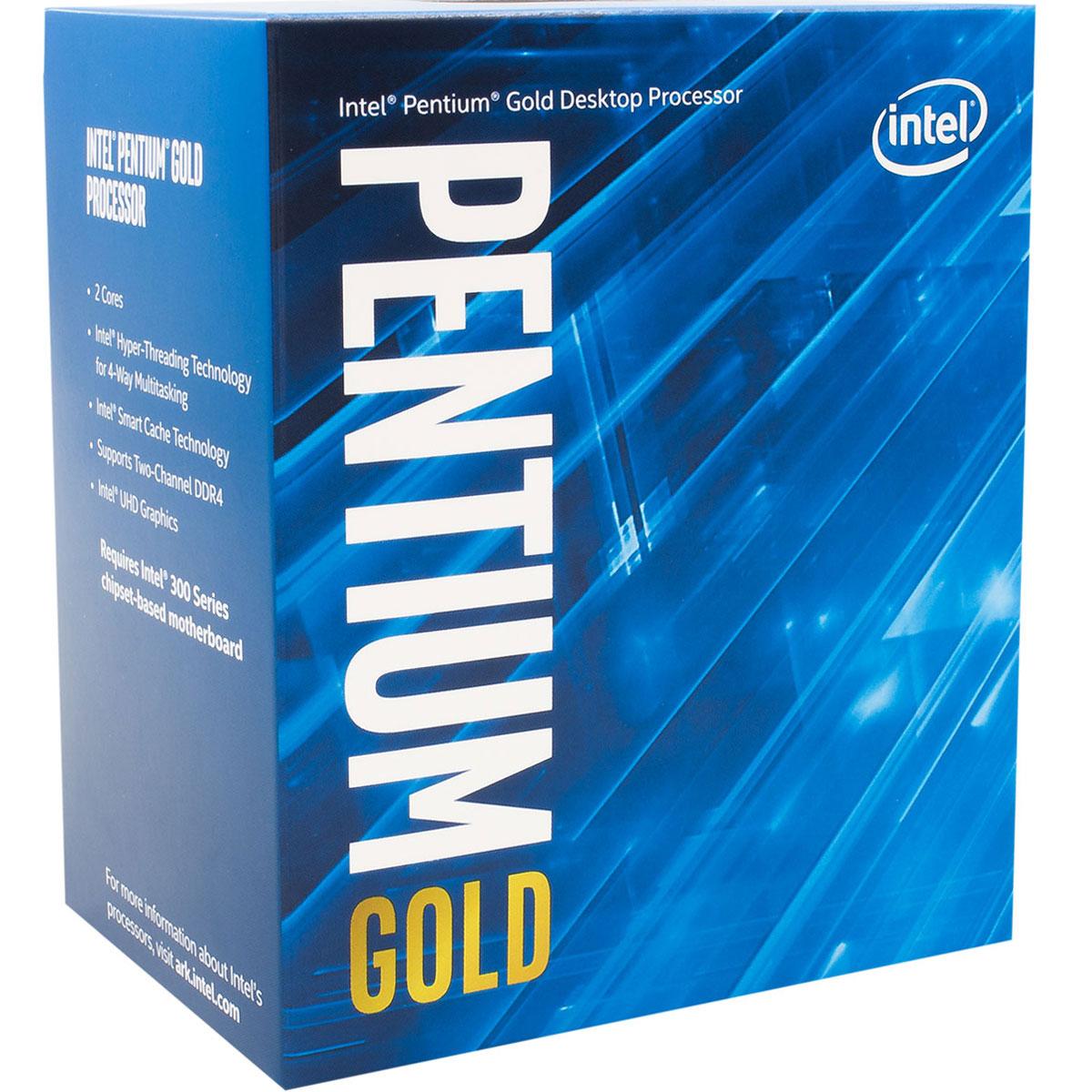 Intel Pentium G5400 - 3.7GHz - Processeur Intel - Cybertek.fr - 0