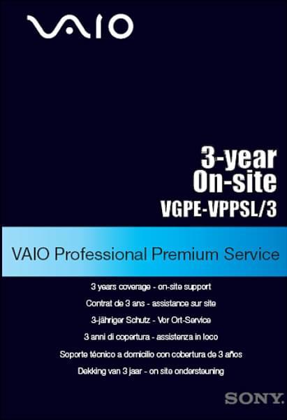 Sony Extension de garantie 3 ans/site J+1 (VGPE-VPPSL3) - Achat / Vente Accessoire PC portable sur Cybertek.fr - 0