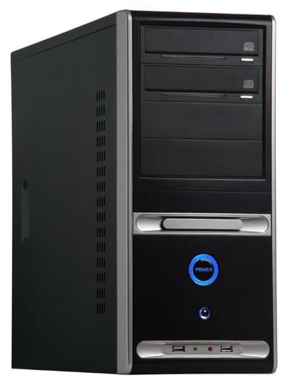 CYBERTEK MT450B Black - Boîtier PC avec Alim - 0