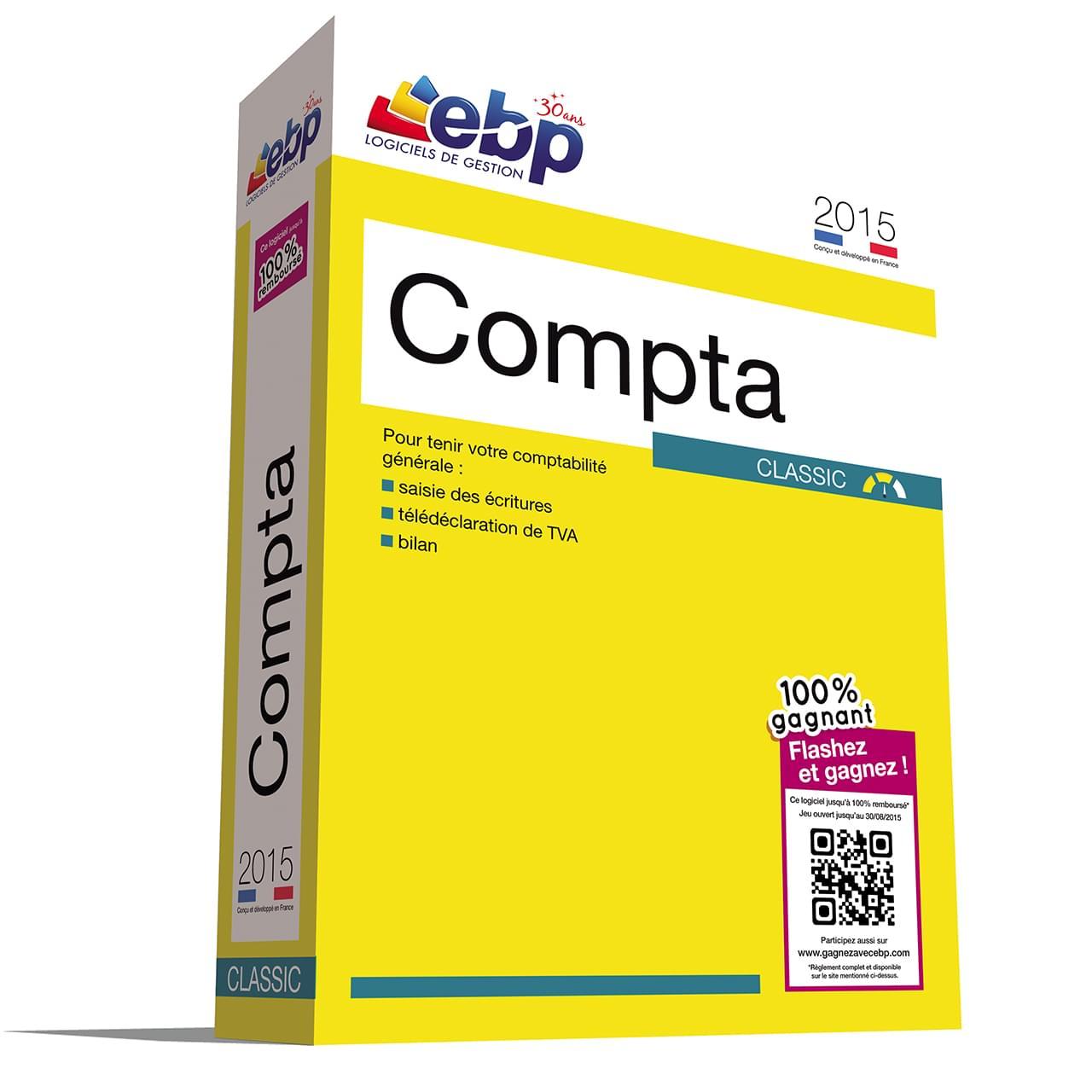 EBP Compta Classic 2015 + 100% Gagnant - Logiciel application - 0