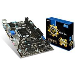 image produit MSI H81M-E34 - H81/LGA1150/DDR3/mATX Cybertek