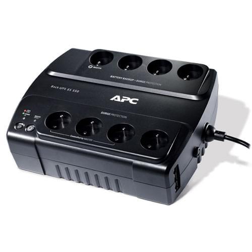 APC Back UPS ES 550VA 8 prises BE550G-FR (Gtie 3 ans) (BE550G-FR) - Achat / Vente Onduleur - Multiprises sur Cybertek.fr - 0