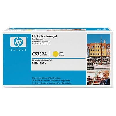 HP Toner C9732A Jaune 12000p (C9732A) - Achat / Vente Consommable Imprimante sur Cybertek.fr - 0