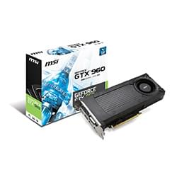 MSI Carte Graphique GTX 960 2GD5 - GTX960/2Go/DVI/HDMI/DP Cybertek