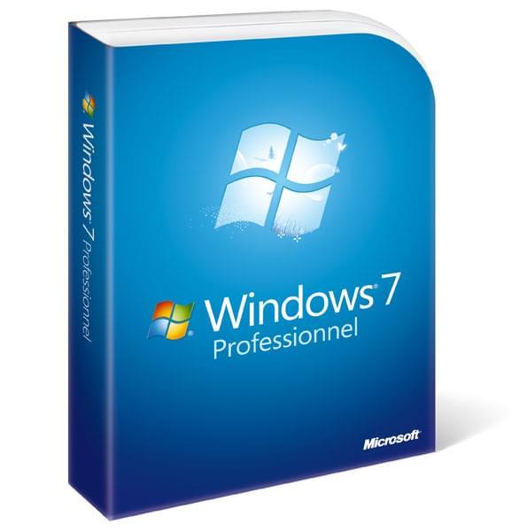 Microsoft Windows 7 Edition Professionnelle 64b CYBERTEK - Logiciel système exploitation - 0