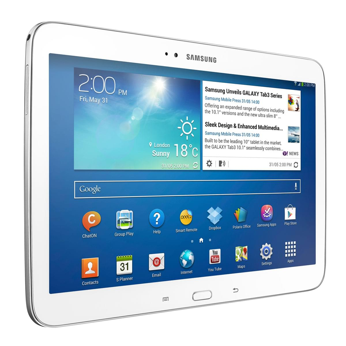 Samsung Galaxy Tab 3 LTE P5220ZWA - Tablette tactile Samsung - 0