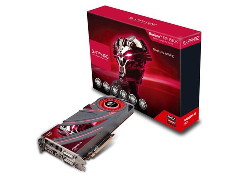 Sapphire R9 290X 4GB GDDR5 4Go - Carte graphique Sapphire - 0