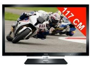 Toshiba 46WL863F 3D (46WL863F) - Achat / Vente TV sur Cybertek.fr - 0