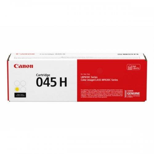 Toner jaune Grande Capacité 045 HY - 1243C002 pour imprimante  Canon - 0