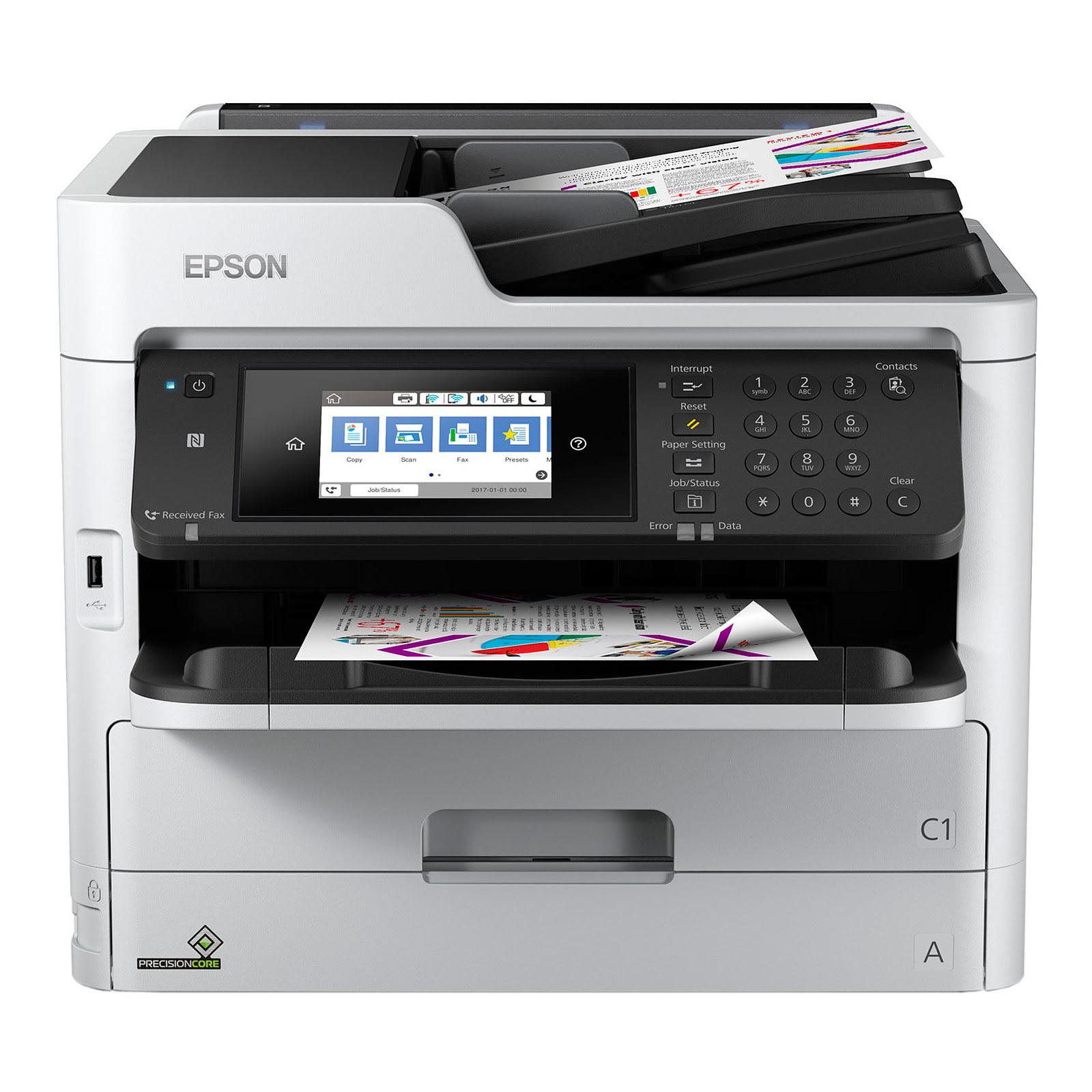 Imprimante multifonction Epson WorkForce Pro WF-C5790DWF - 0