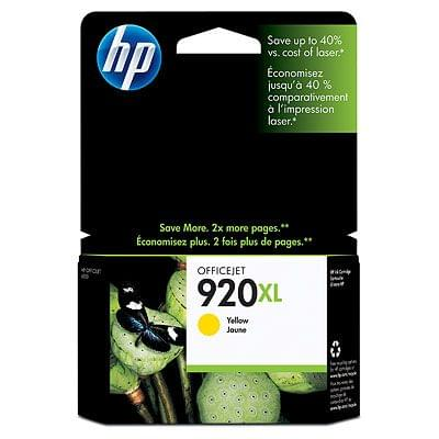 Consommable imprimante HP Cartouche 920XL Jaune - CD974AE