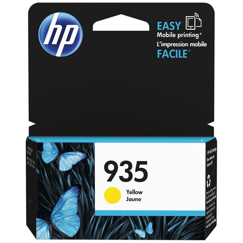 HP Cartouche 935 Jaune 400p (C2P22AE) - Achat / Vente Consommable Imprimante sur Cybertek.fr - 0