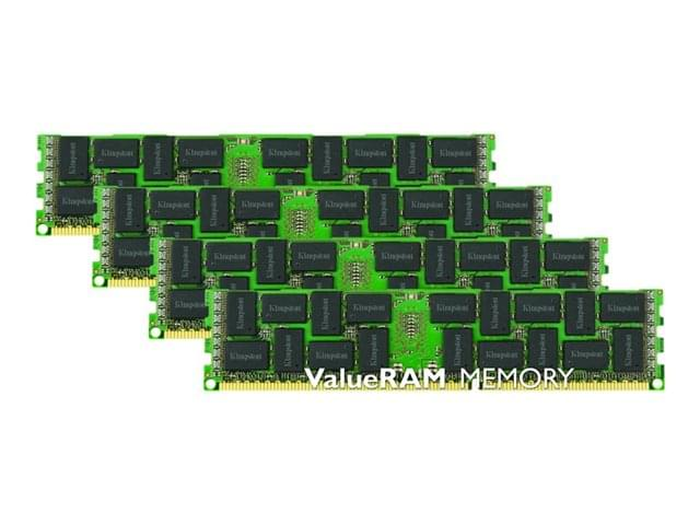 Kingston 32Go DDR3-1600 PC12800 ECC Reg KVR16R11S4K4/32I 32Go DDR3 1600MHz - Mémoire PC - 0