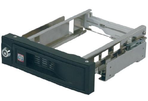 SATA 1&2 - IB-168SK-B Noir - Tiroir extractible - Cybertek.fr - 0