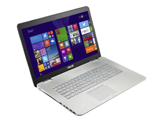 Asus N751JX-T3142H (90NB0844-M01570) - Achat / Vente PC Portable sur Cybertek.fr - 0