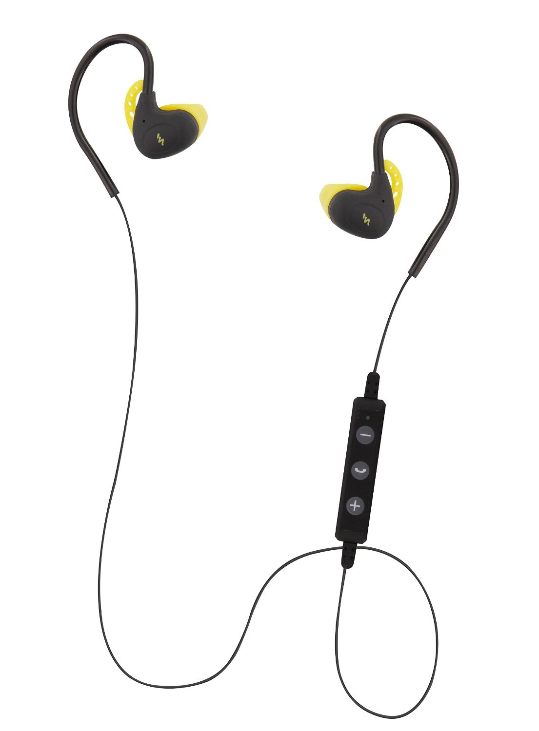 T'nB Ecouteurs Bluetooth 4.1 Sport Stereo Jaune - Micro-casque - 0