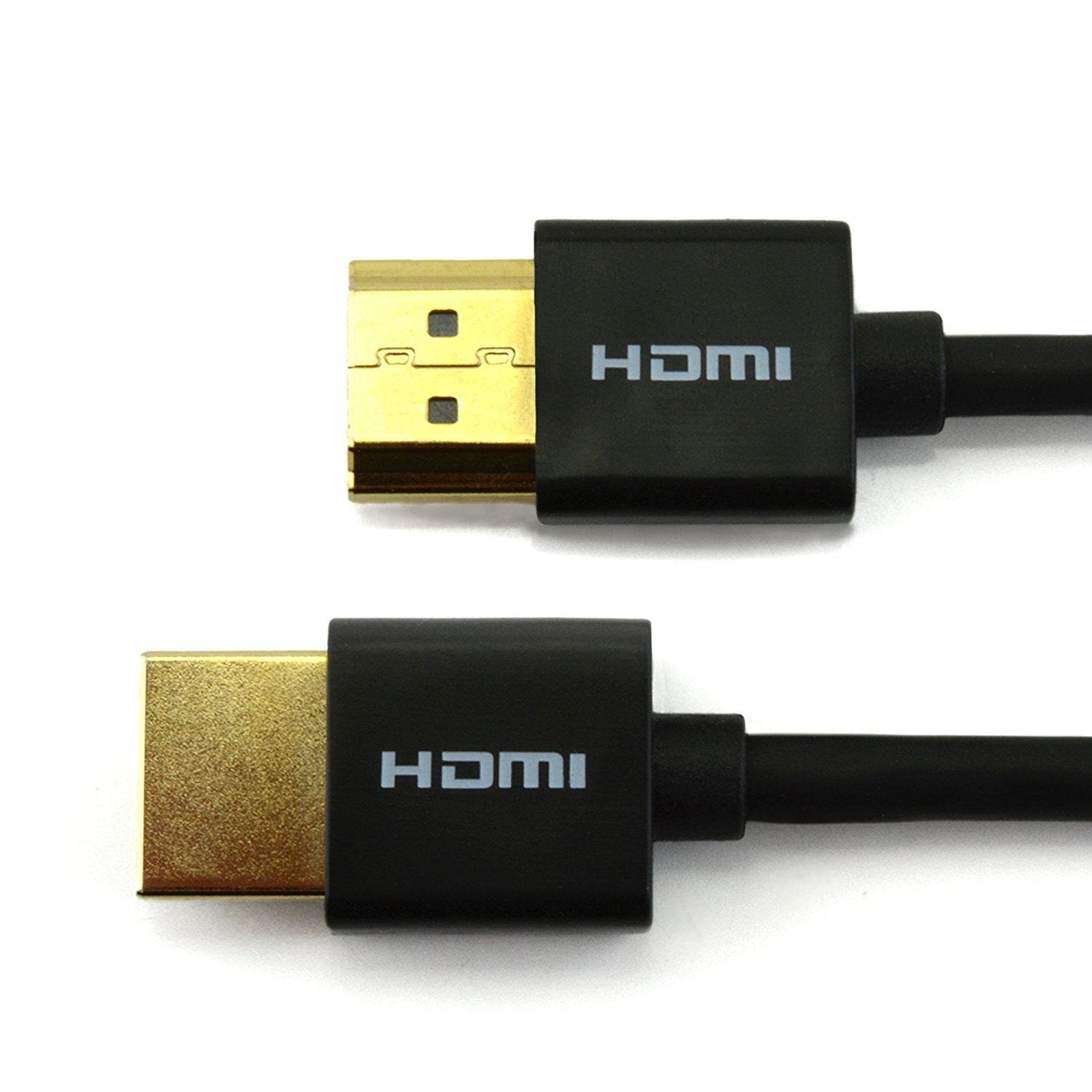 Cable Fin HDMI 2.0 connectique Or - 1.5m - 0