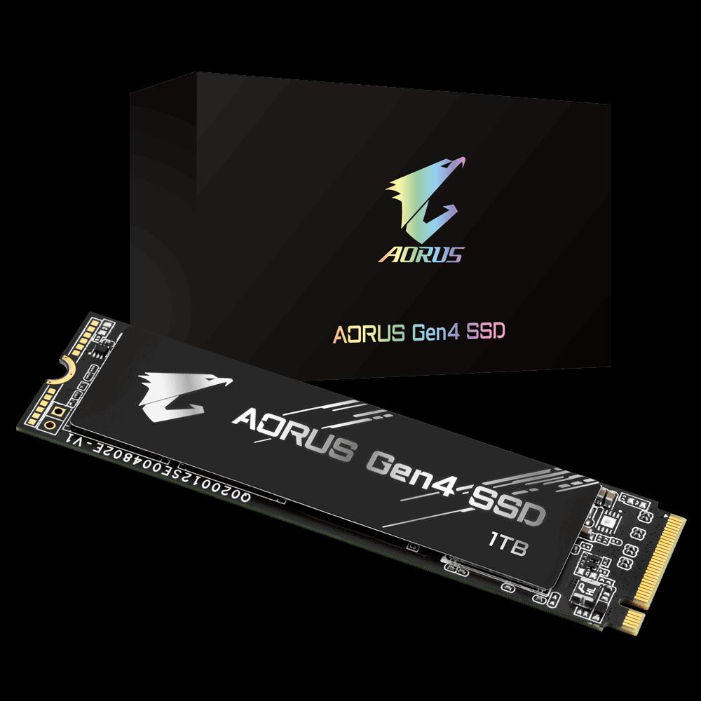Gigabyte AORUS GP-AG41TB 960Go-1To M.2 - Disque SSD Gigabyte - 0