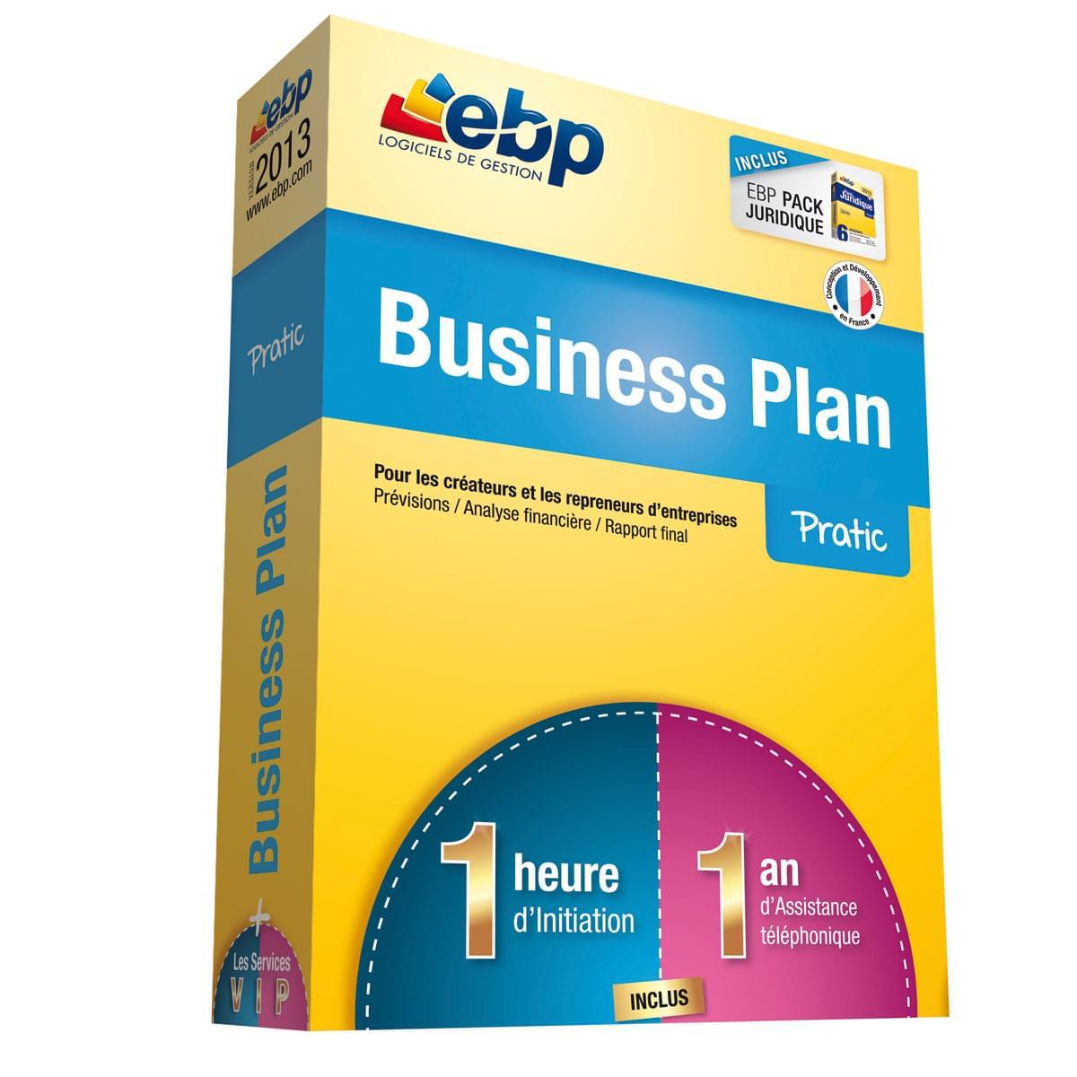 EBP Business Plan Pratic 2013 + Services VIP (1105E101FAA) - Achat / Vente Logiciel Application sur Cybertek.fr - 0