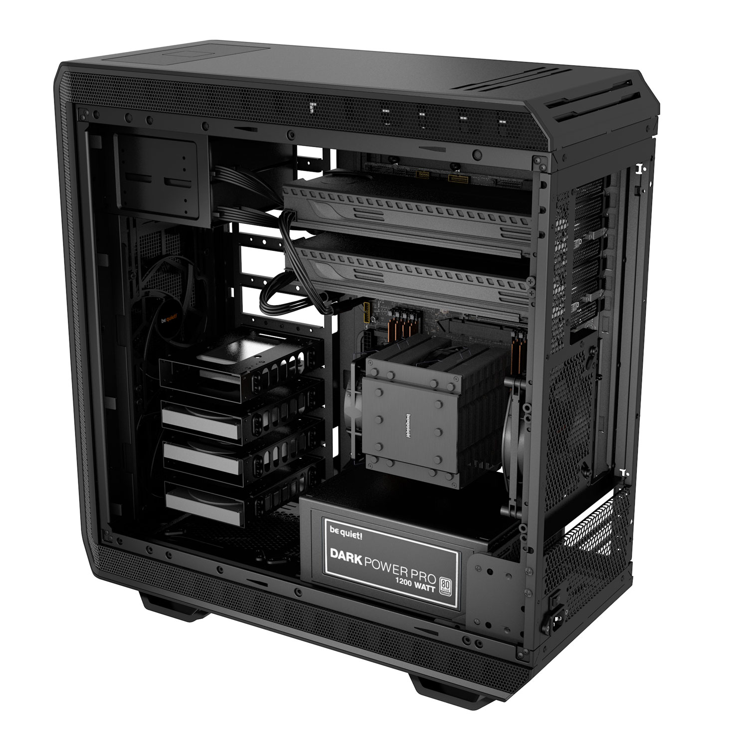 Be Quiet! Dark Base Pro 900 Black Noir - Boîtier PC Be Quiet! - 1