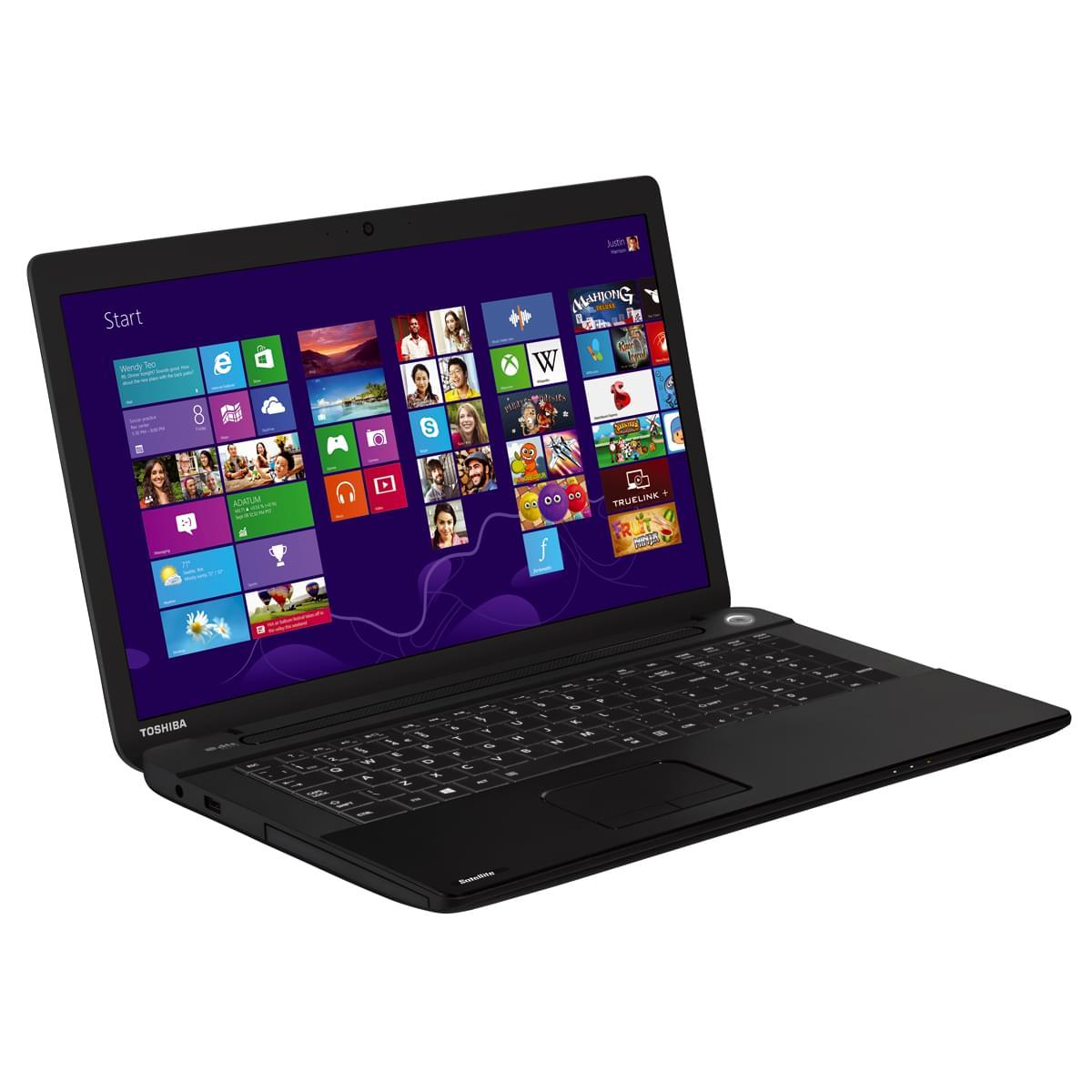 Toshiba C70-A-13T (PSCE3E-00N01FFR) - Achat / Vente PC Portable sur Cybertek.fr - 0
