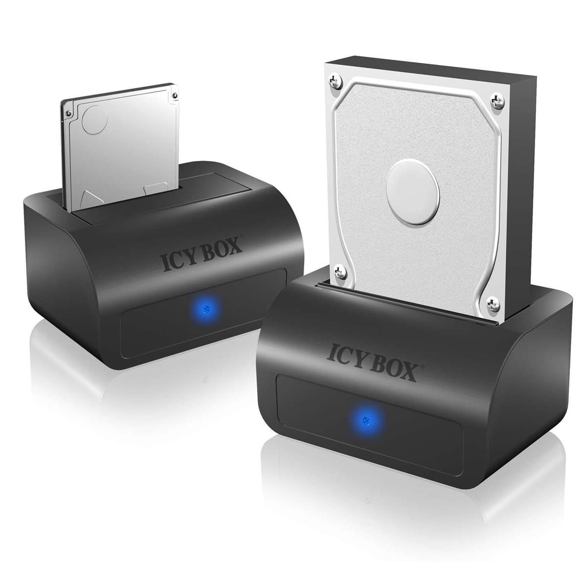 Icy Box Station d'accueil USB3 pour DD SATA- IB-116STU3-B (IB-116STU3-B) - Achat / Vente Boîtier externe sur Cybertek.fr - 0