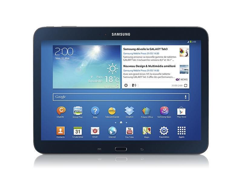 Samsung Galaxy Tab 3 P5210MKA (GT-P5210MKAXEF) - Achat / Vente Tablette tactile sur Cybertek.fr - 0