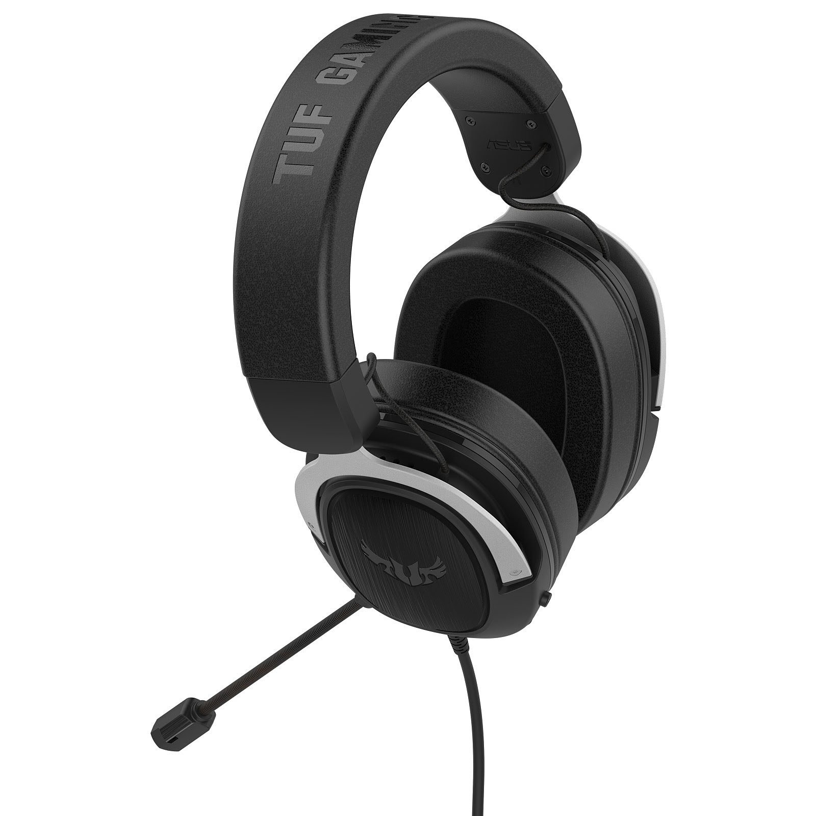 Asus TUF Gaming H3 Silver Stereo Gris - Micro-casque - Cybertek.fr - 4