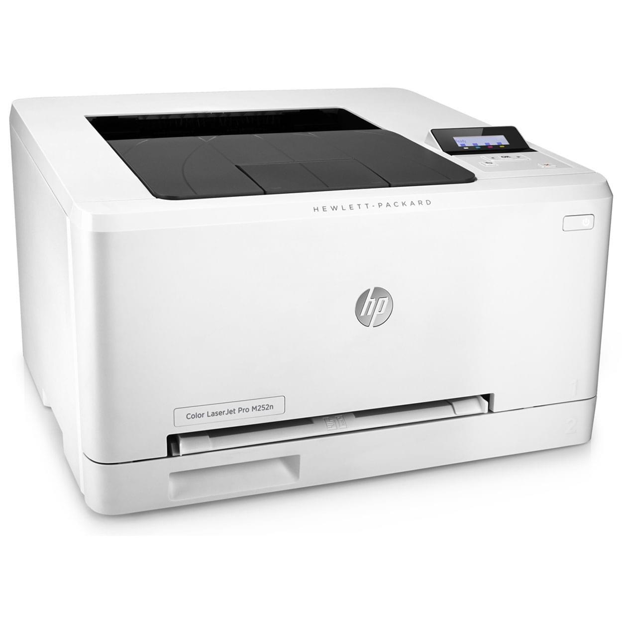 HP Color LaserJet Pro M252n (B4A21A#B19) - Achat / Vente Imprimante sur Cybertek.fr - 0
