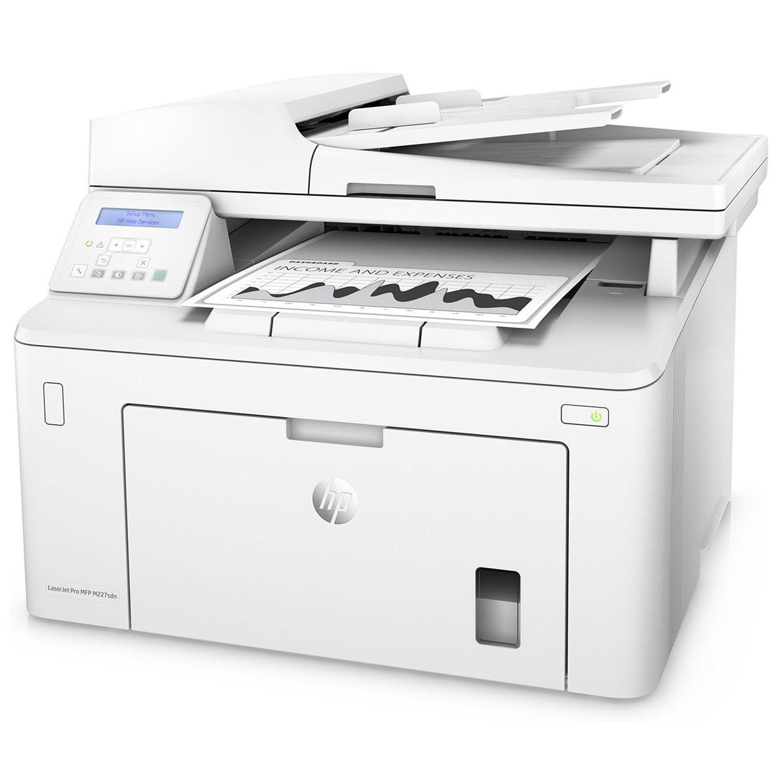 Imprimante multifonction HP LaserJet Pro MFP M227sdn - Cybertek.fr - 3