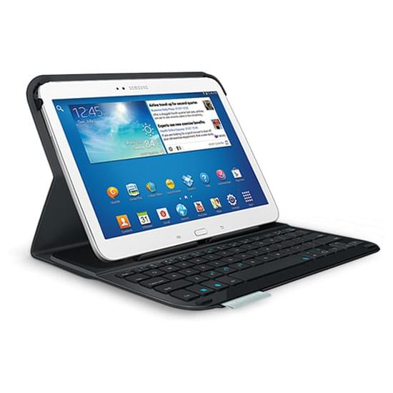 "Ultra Thin Keyboard Folio for Galaxy Tab 3 10.1"" - 0"