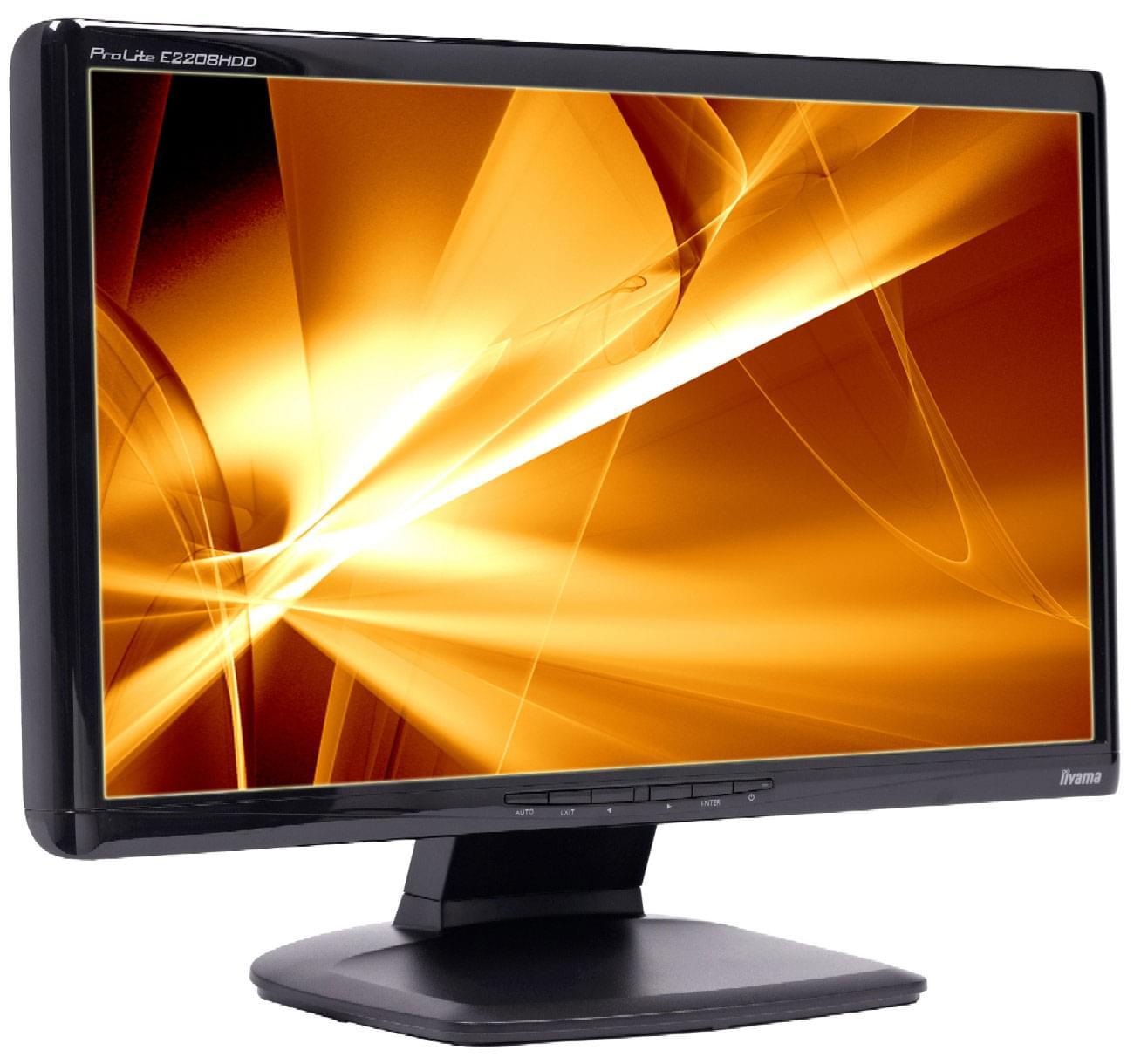 Iiyama PLE2208HDD-B1 (PLE2208HDD-B1 OBSO) - Achat / Vente Ecran PC sur Cybertek.fr - 0