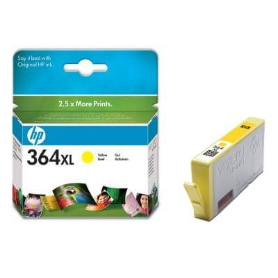 Cartouche Jaune HP 364XL - CB325EE pour imprimante Jet d'encre HP - 0