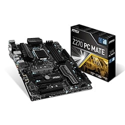 image produit MSI Z270 PC MATE - Z270/LGA1151/DDR4/CF/ATX Cybertek