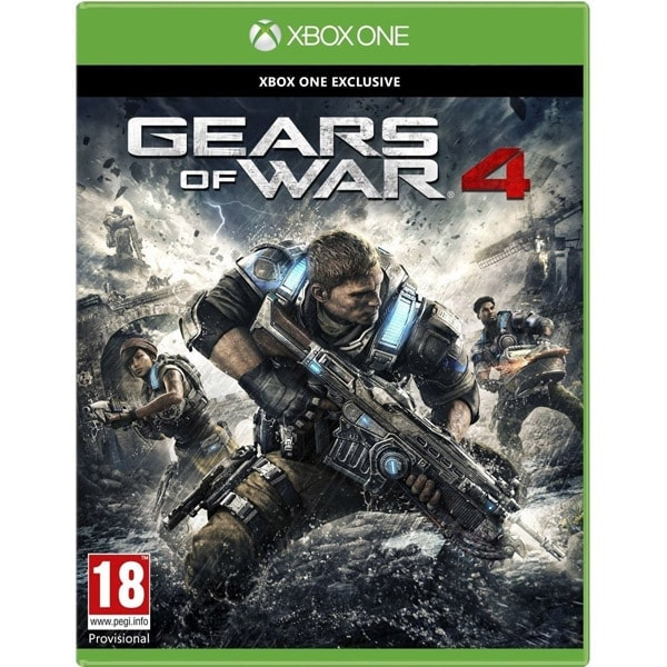 Microsoft Gears of War 4 pour XBox One (4V9-00013 **) - Achat / Vente Jeux video sur Cybertek.fr - 0