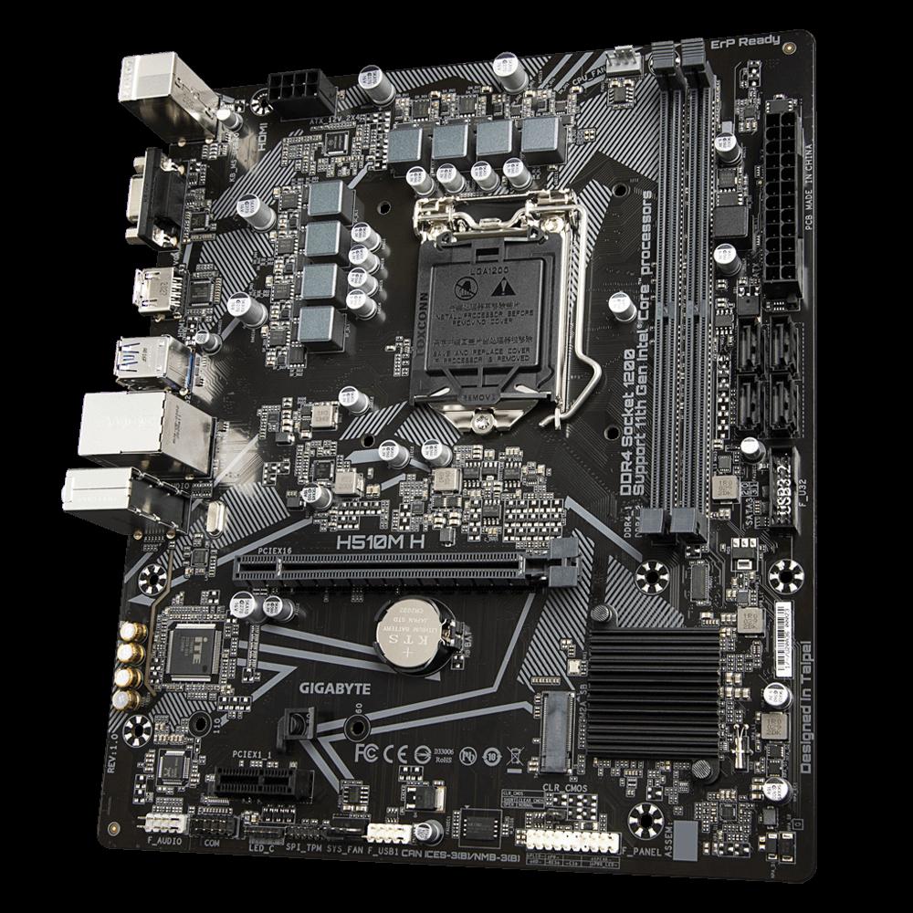Gigabyte H510M H Micro-ATX DDR4 - Carte mère Gigabyte - 2