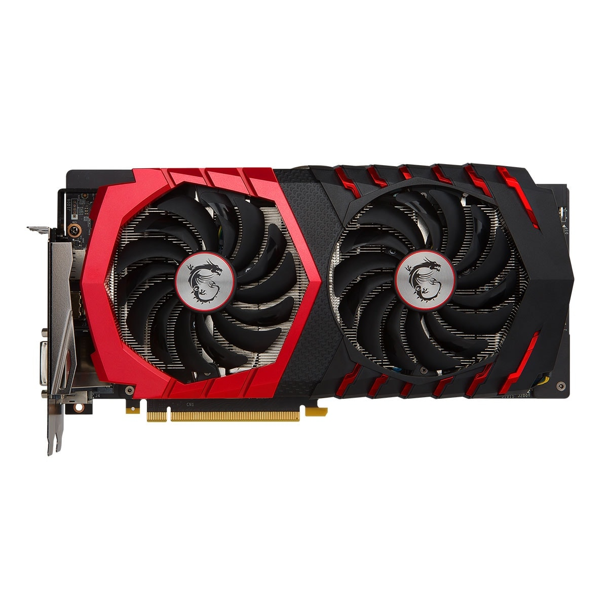 MSI GeForce GTX 1060 GAMING X 6G  (GeForce GTX 1060 GAMING X 6G ) - Achat / Vente Carte Graphique sur Cybertek.fr - 2