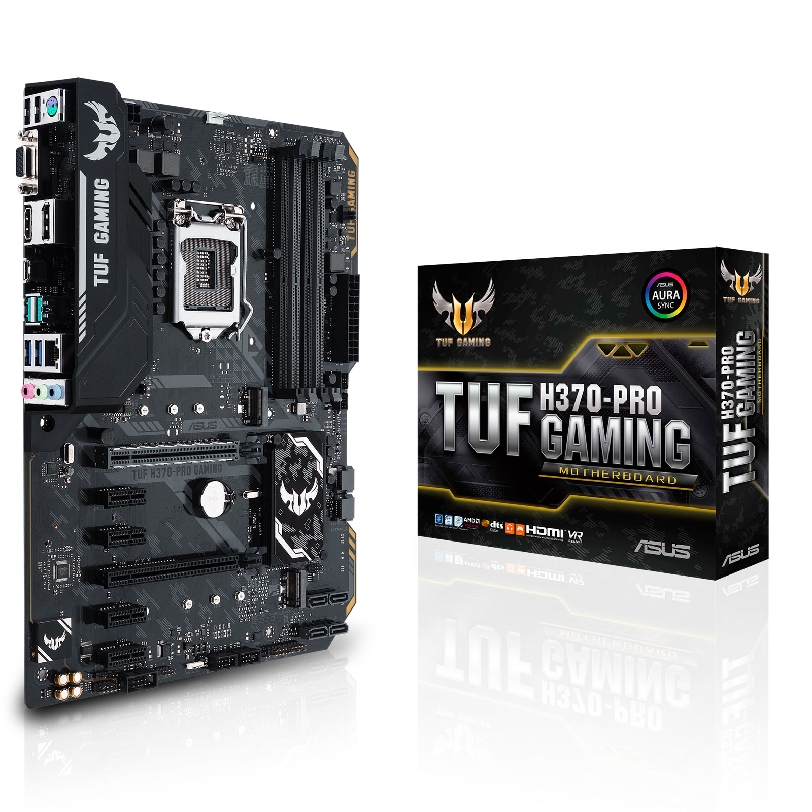 Asus H370-PRO GAMING WI-FI ATX DDR4 - Carte mère Asus - 0