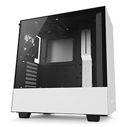 image produit NZXT H500 Blanc - MT/Sans Alim/ATX Cybertek