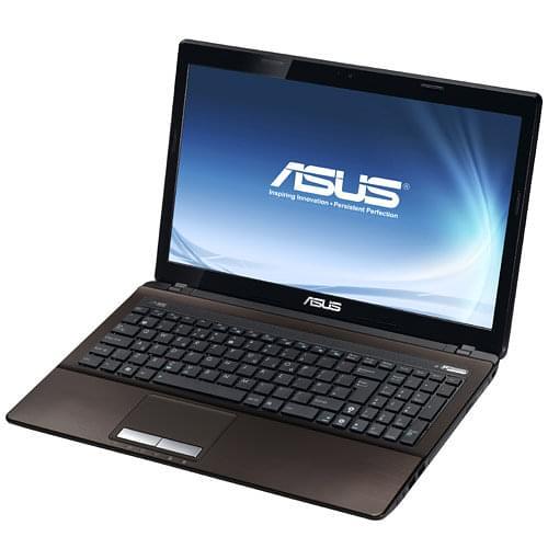 Asus K53U-SX302V (K53U-SX302V) - Achat / Vente PC Portable sur Cybertek.fr - 0