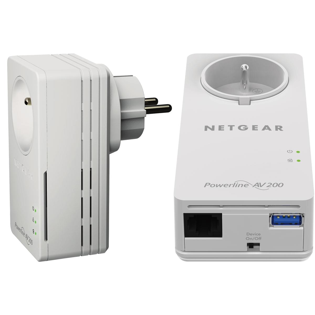Netgear XAUB2511 PowerLine Music Extender - Pack de 2 - Adaptateur CPL - 0