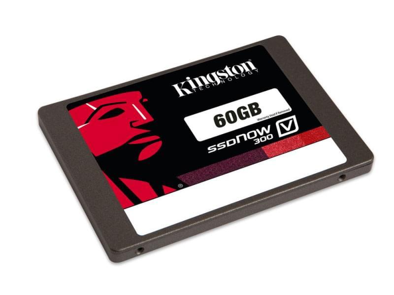 Kingston 60Go SSD SSDNow V300 SATA 6 SV300S37A/60G (SV300S37A/60G) - Achat / Vente Disque SSD sur Cybertek.fr - 0