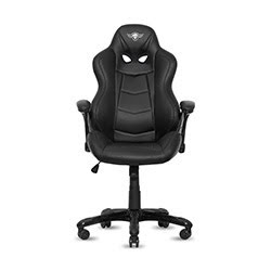 image produit Spirit Of Gamer Racing Black - Noir/Simili Cuir Cybertek