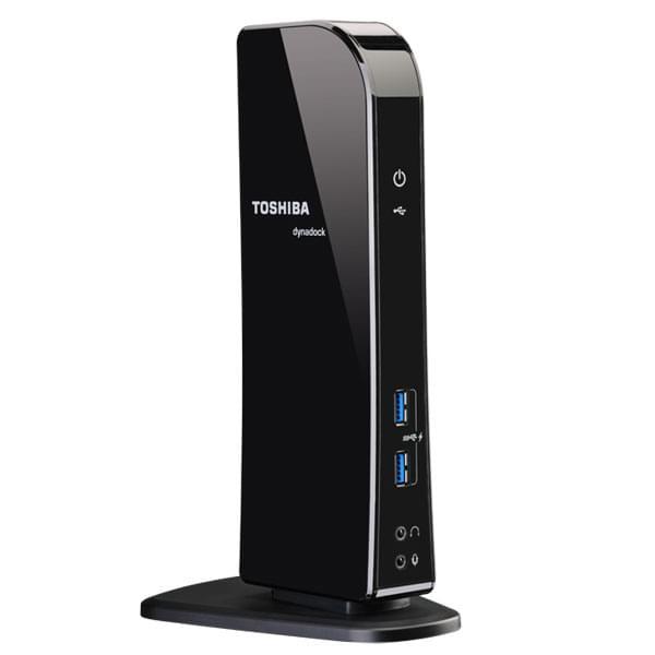 Dynadock U3 Réplicateur ports universel USB3 DVI/HDMI - Toshiba - 0