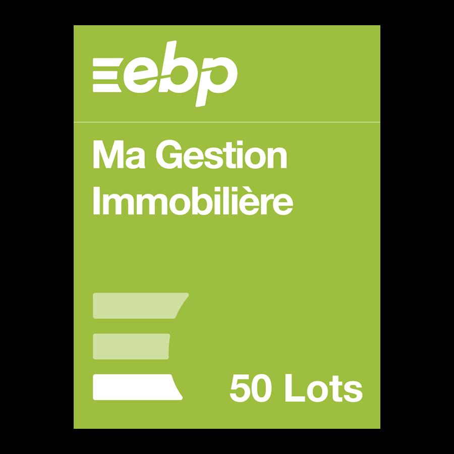 EBP Ma Gestion Immobilière version 50 lots - Logiciel application - 0