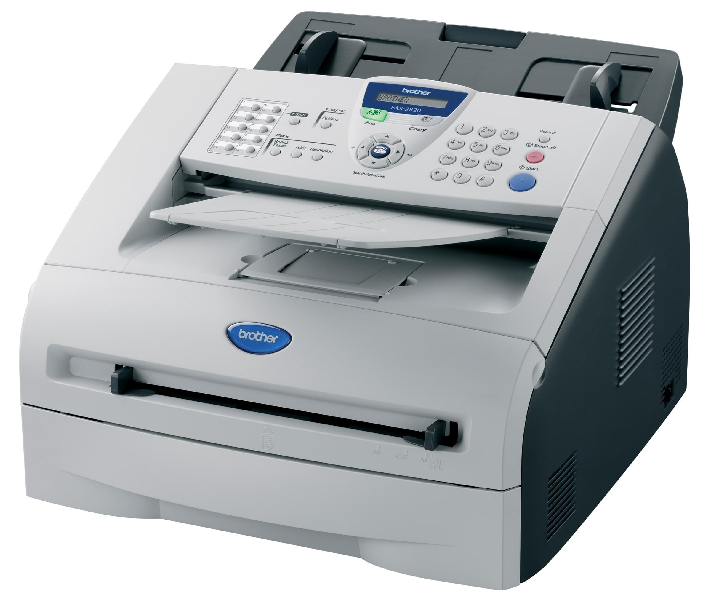 Imprimante Brother FAX 2820 - Cybertek.fr - 0